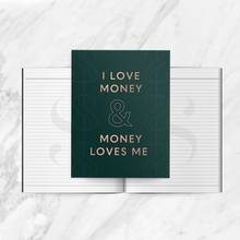 Load image into Gallery viewer, I Love Money Journal