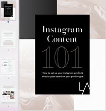 Load image into Gallery viewer, Instagram Content 101