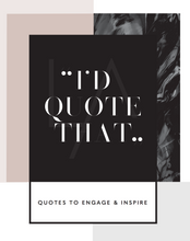 Load image into Gallery viewer, Instagram quote ideas