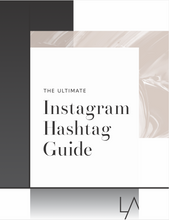 Load image into Gallery viewer, Instagram hashtag guide 2020
