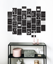 Load image into Gallery viewer, Self Love Wall Kit (Black)