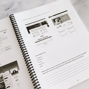 Website Planning Book