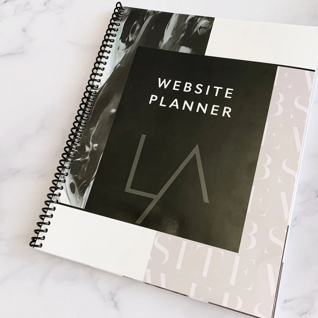 Website Planning Notebook