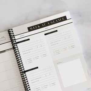 Youtube Video Planner Notebook