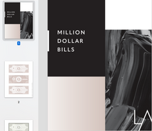 Load image into Gallery viewer, Million Dollar Bills Printable