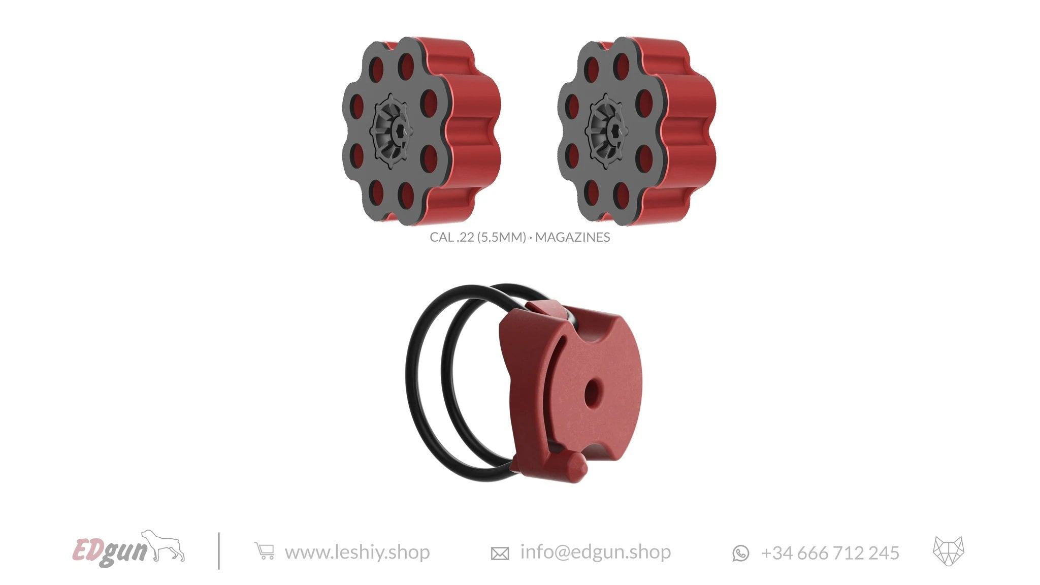 RED MAGAZINES <br>LESHIY 2