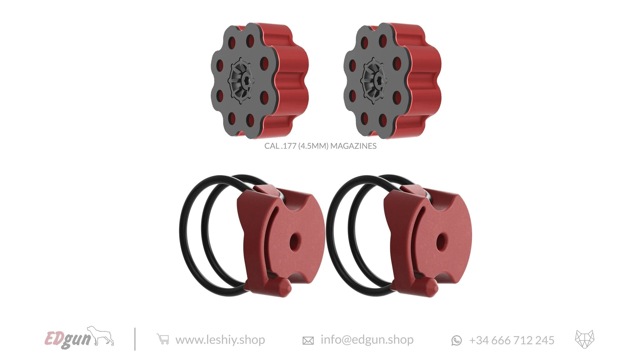 RED MAGAZINES LESHIY 2