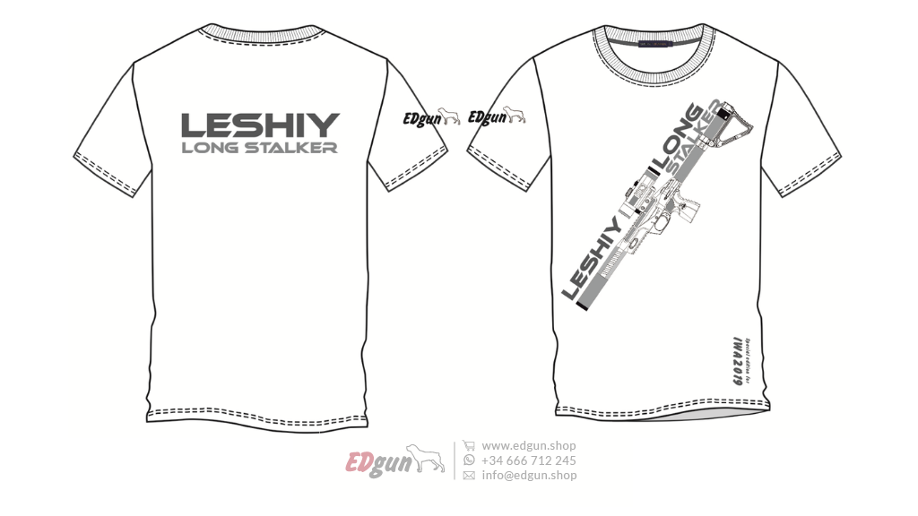 "T-shirt Printed <br> EDgun Leshiy · ""Model 1"""