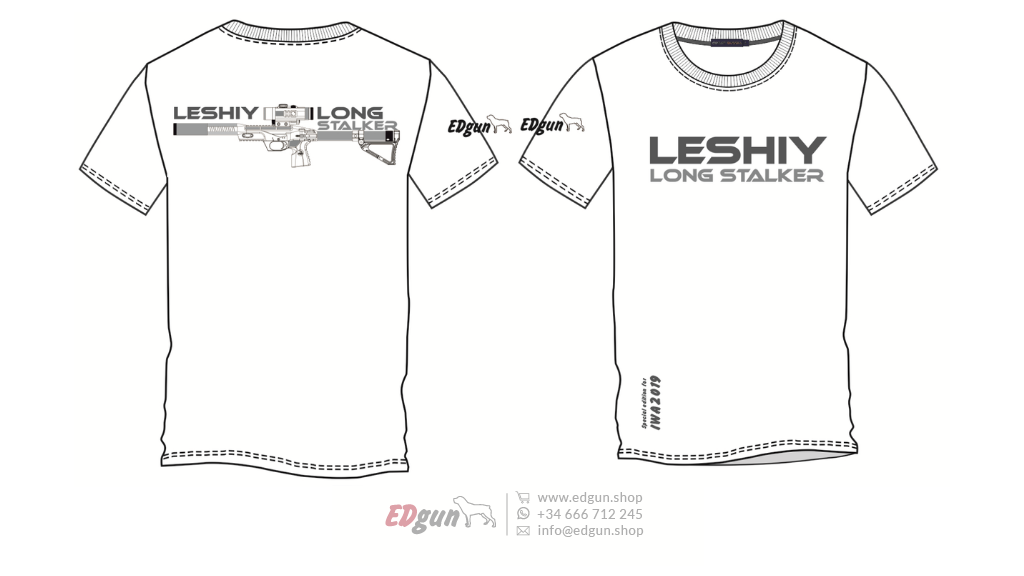 "T-shirt Printed <br> EDgun Leshiy · ""Model 2"""