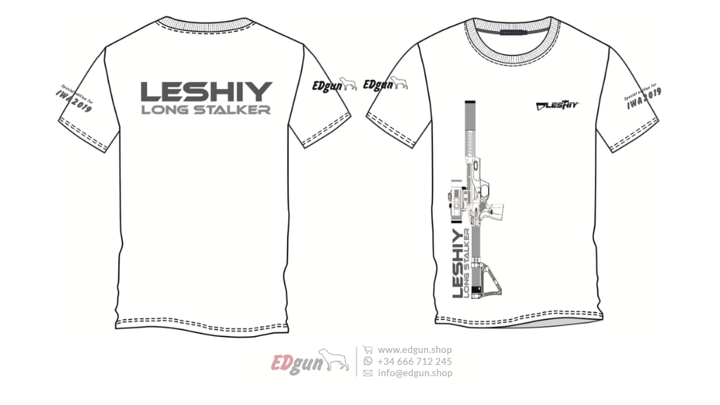 "T-shirt Printed <br> EDgun Leshiy · ""Model 3"""