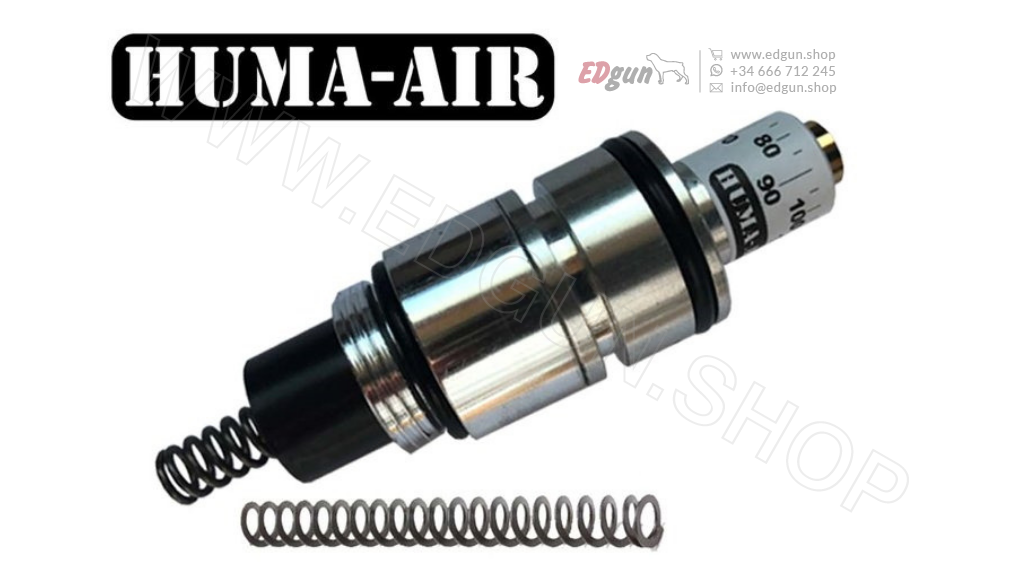 HUMA-AIR 12 ftlbs HFT <br/> Kit de Regulador de Ajuste para EDgun Leshiy