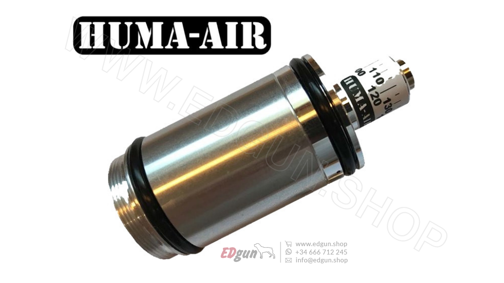 Regulador de presión HUMA-AIR<br/>para EDgun Lelya 2.0