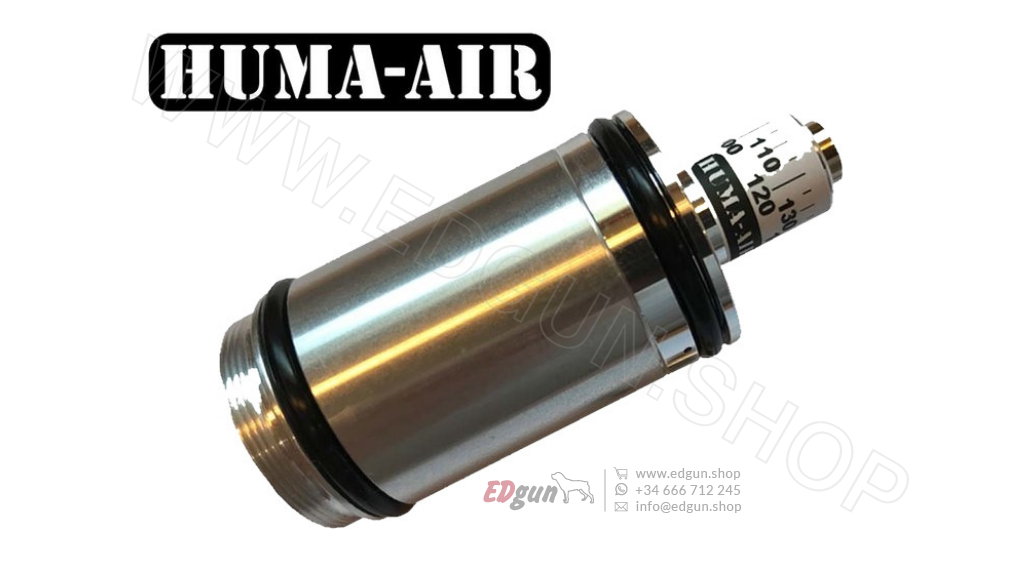 Regulador de presión HUMA-AIR <br/>para EDgun Morana