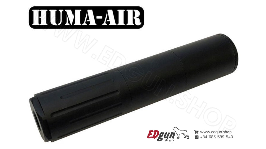 Modular Airgun Silencer <br>HUMA-AIR MOD30-3/0 (Compact)