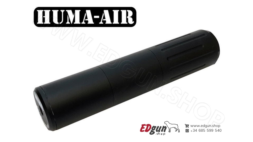 Modular Airgun Silencer <br/>HUMA-AIR MOD30-3/0 (Compact)