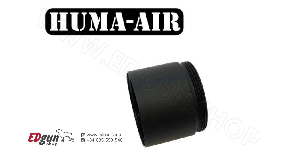 Optional 20 mm. volume chamber <br>for the Modular Airgun Silencer <br>HUMA-AIR MOD30