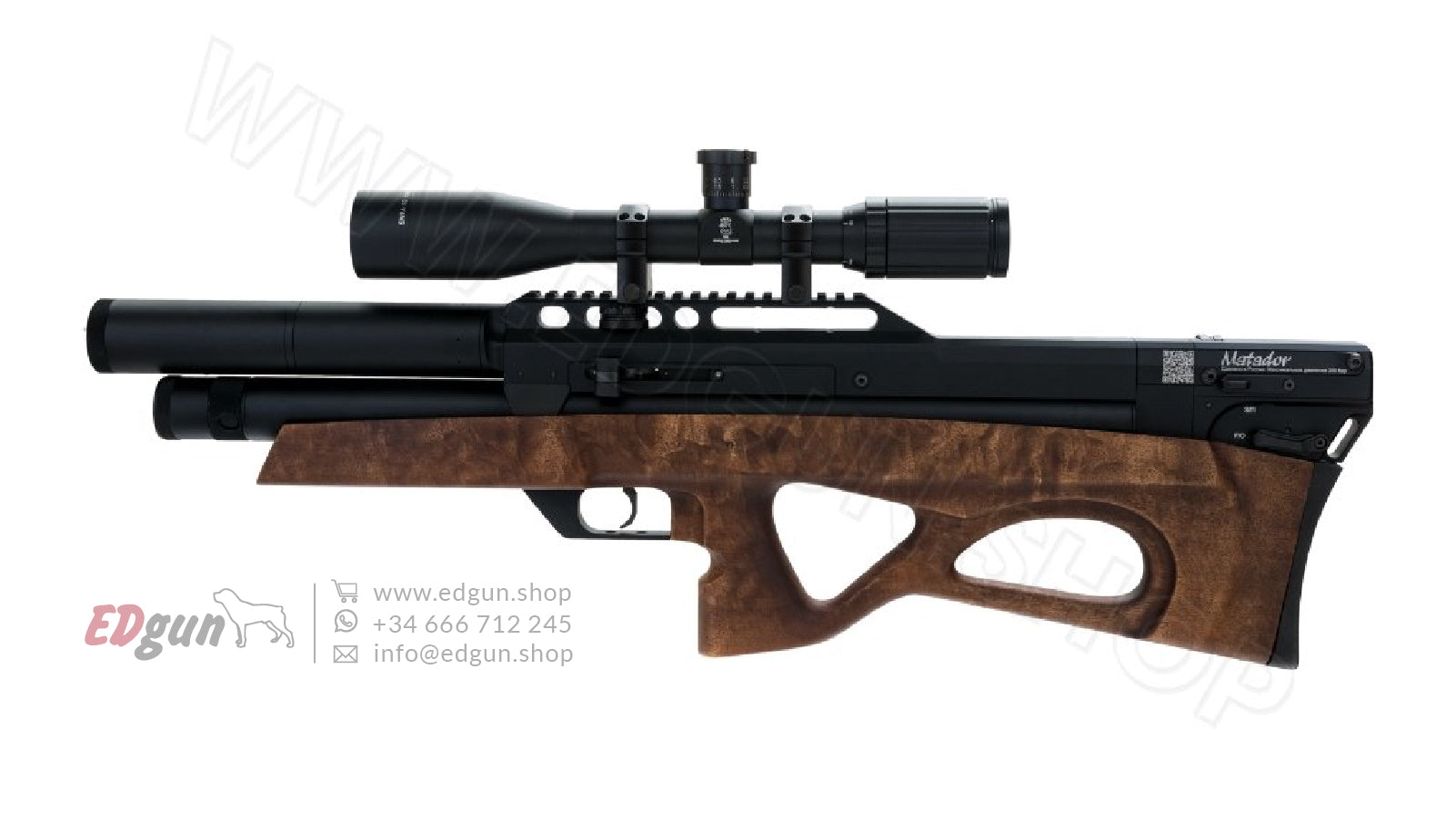 EDgun Matador R5M <br> Technical service