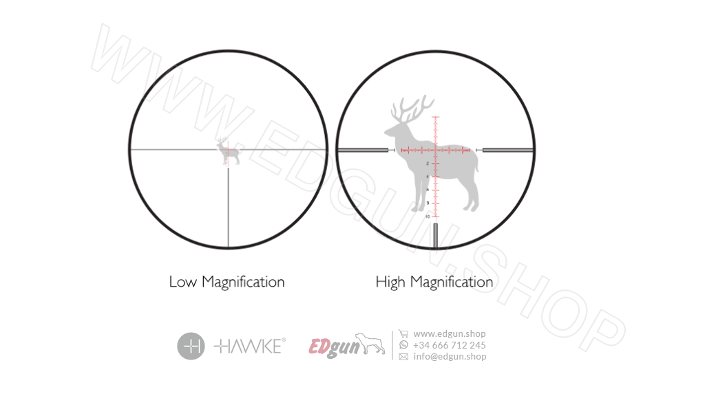 Scope Hawke <br>FRONTIER FFP 5-25×56 MIL EXT