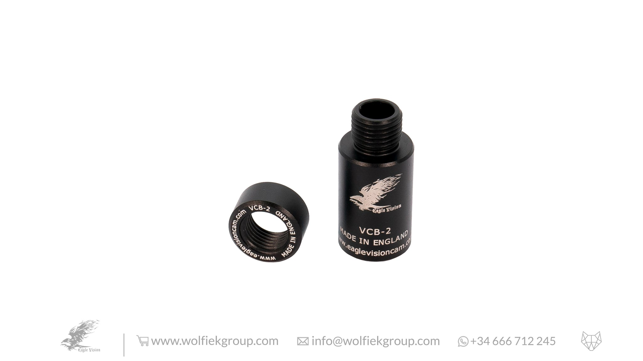 EAGLE VISION · 1/2 UNF BARREL ADAPTOR (VCB-2) FOR LESHIY 2