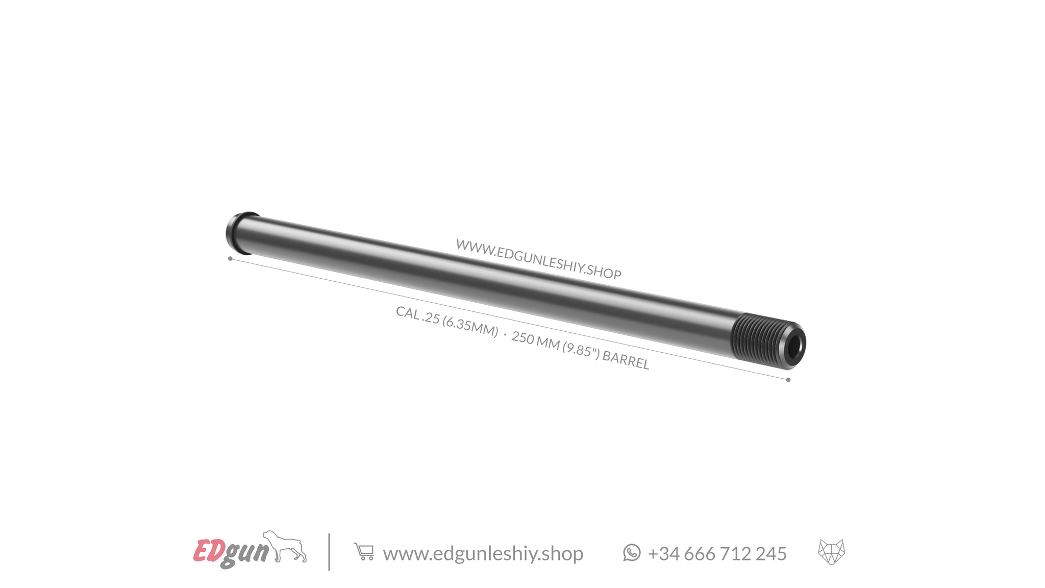 "250 MM (9.85"") BARREL LESHIY 2"