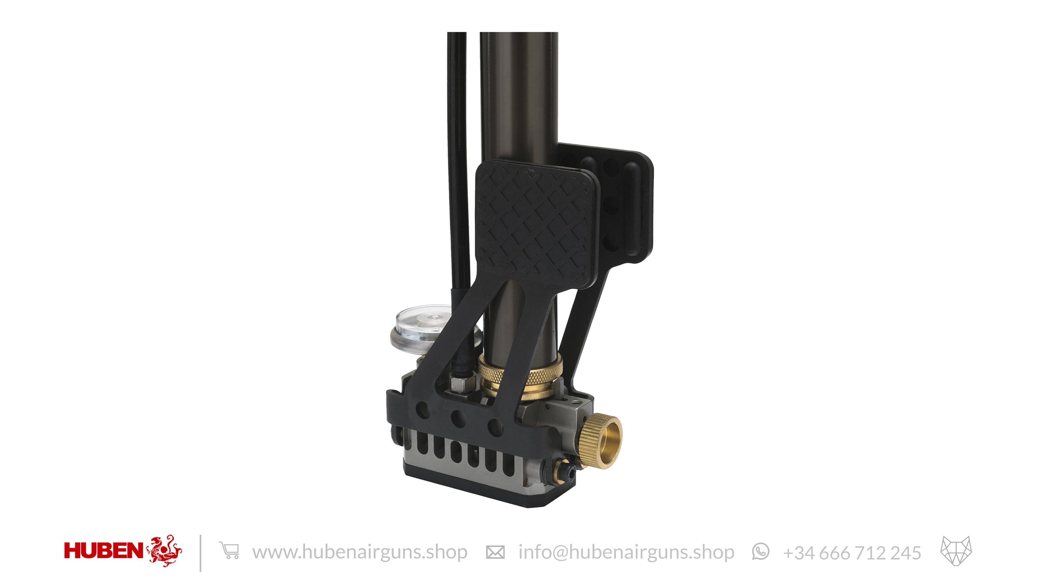 Handpump for PCP Airguns (350BAR / 5000 PSI)