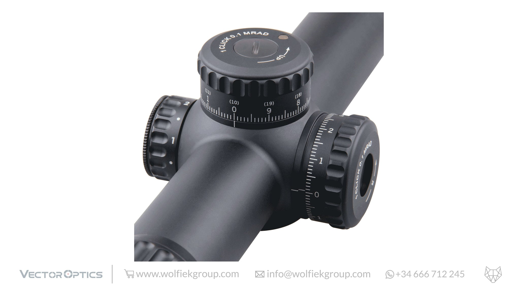 VECTOR OPTICS <br>CONTINENTAL 34 <br>1-6x28 FFP