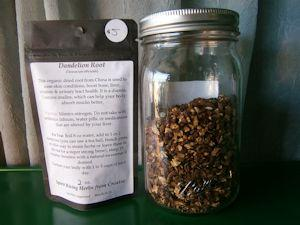 Dandelion Root - 2 oz - Spirit Rising