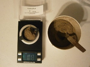 Earthing Rapé - Basic blend, no additives - 1 gram - Spirit Rising