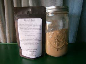 licorice root powdered