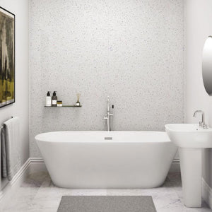 How to upgrade your bathroom with PVC sparkle cladding-Decor Walls & Flooring