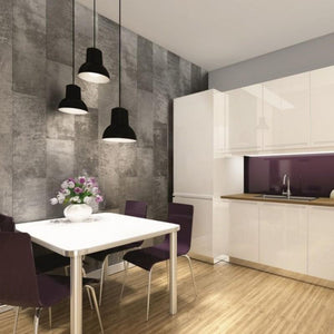 The Modern Way to Finish Your Kitchen-Decor Walls & Flooring