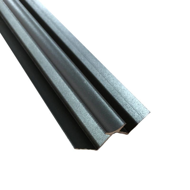 Aluminium Internal Corner Anthracite (10mm Depth)
