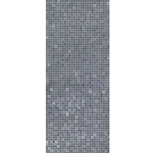 Large Premium Mosaic Blue Shower Panel 1.0m x 2.4m-Shower Panel-Decor Walls & Flooring