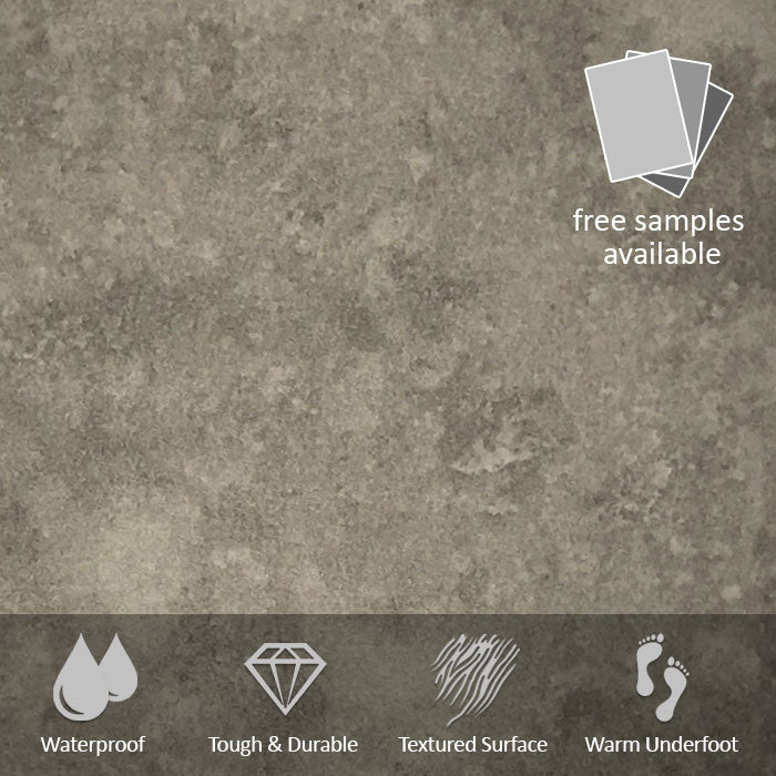 Warm Concrete LVT Flooring 2.5M² PACK