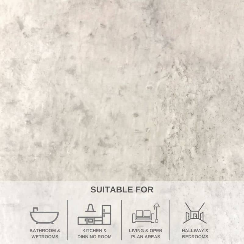 Eriskay Light Stone SPC Flooring 2.04M² PACK