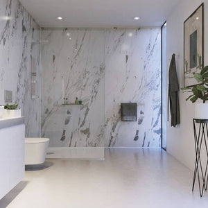 Lightning Marble-ShowerWall-Decor Walls & Flooring
