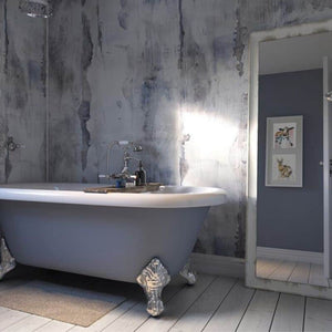 Nautical Wood-ShowerWall-Decor Walls & Flooring