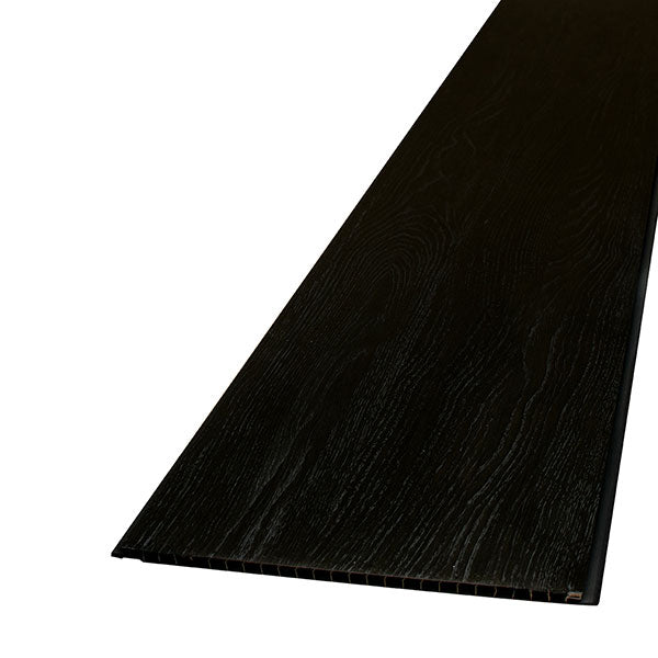 Decorwall Wood Grain Black Silver Elegant Oak-Decor Walls & Flooring