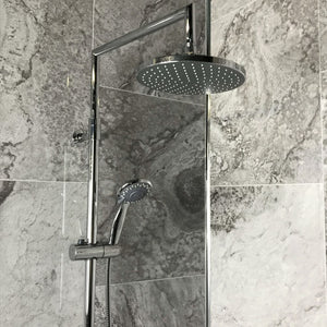Trezzano Grey Marble Tile Effect 400mm (4 Pack)