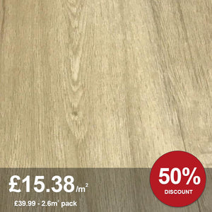 Woodland Oak LVT Flooring  2.6M² PACK
