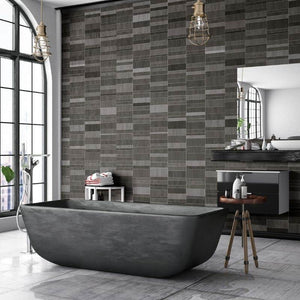 Anthracite Multi Tile Effect-Decor Walls & Flooring