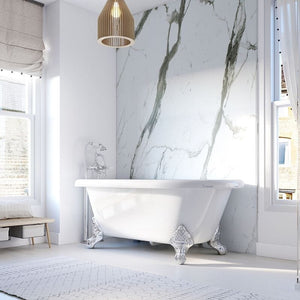 Bianco Carrara-ShowerWall-Decor Walls & Flooring