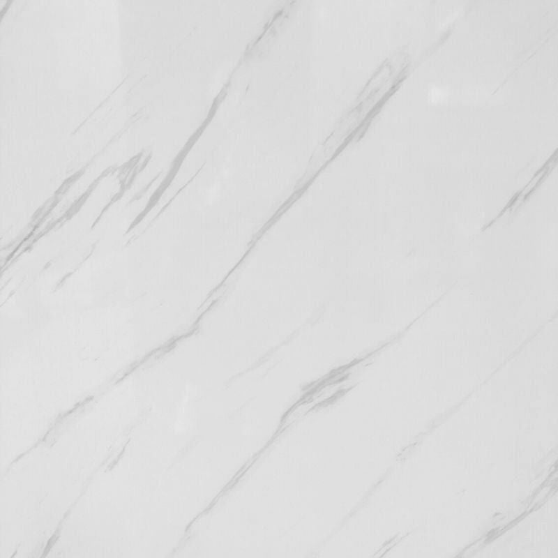 Large White Carrara Marble Shower Panel 1.0m x 2.4m