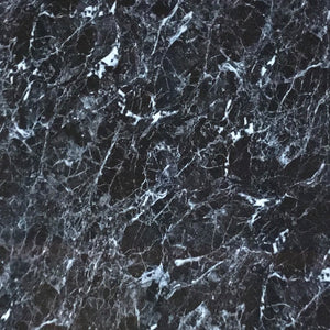 Large Black Marble Shower Panel 1.0m x 2.4m