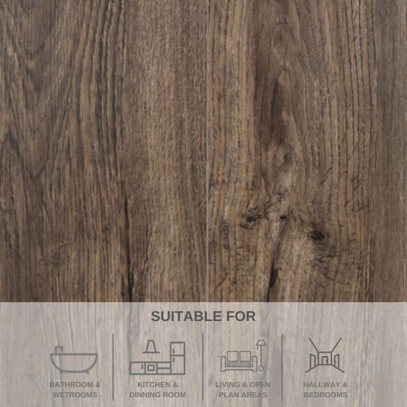 Kilconguhar Oak SPC Flooring 2.2568M² PACK