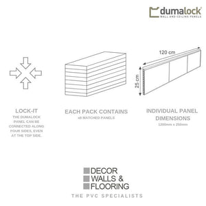 Dumalock 3 Tile Monaco Beige-Decor Walls & Flooring