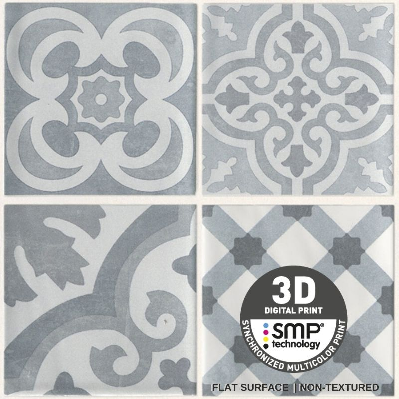 Dumapan SMP Cement Tile Grey