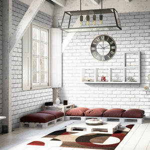 Rustic Brick Grey-Decor Walls & Flooring