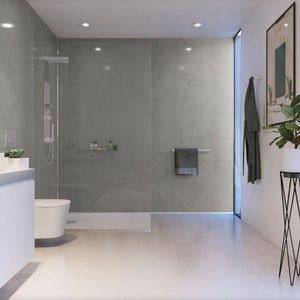 Pearl Grey-ShowerWall-Decor Walls & Flooring