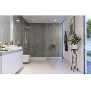 Silver Travertine-ShowerWall-Decor Walls & Flooring